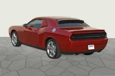 Spoilers - Custom Wing - GT Styling - Dodge Challenger GT Styling Solarwing II - Smoke - 51162