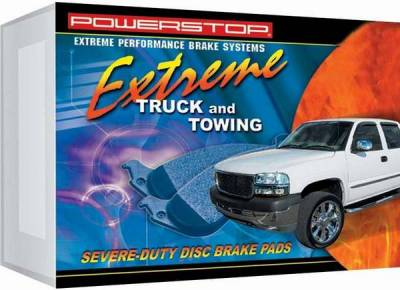 Brakes - Brake Pads - PowerStop - Power Stop Friction Z36 Truck & Tow Brake Pads - Front - Z36-857