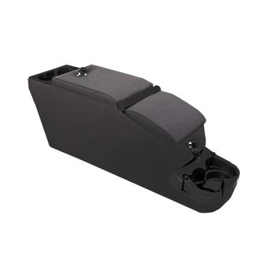 Car Interior - Arm Rests - Omix - Rugged Ridge II - Locking Console - Denim Black - 31615