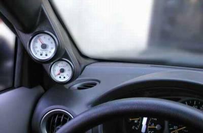 Car Interior - Gauges - ProParts - Pro Parts Full Pillar Dual Gauge Pod - 92015