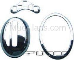 Car Interior - Interior Accessories - Putco - Volkswagen Beetle Putco Chrome Shift Gear Frame - 403519