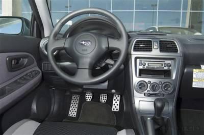 Car Interior - Car Pedals - Putco - Subaru WRX Putco Street Design Liquid Pedal Foot Rest - 931114