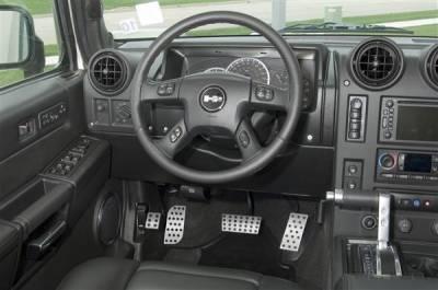 Car Interior - Car Pedals - Putco - Hummer H2 Putco Street Design Liquid Pedals - 931120