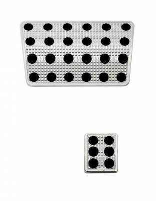 Car Interior - Car Pedals - Putco - Jeep Wrangler Putco Track Design Liquid Pedals - 932015