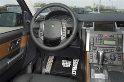 Car Interior - Car Pedals - Putco - Land Rover Range Rover Putco Track Design Liquid Pedal Foot Rest - 932024