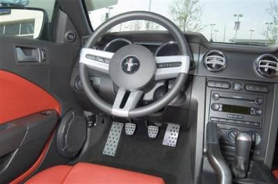 Car Interior - Car Pedals - Putco - Ford Mustang Putco Track Design Liquid Pedal Foot Rest - 932104