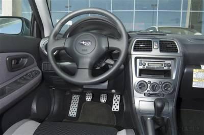 Car Interior - Car Pedals - Putco - Subaru WRX Putco Track Design Liquid Pedals - 932110