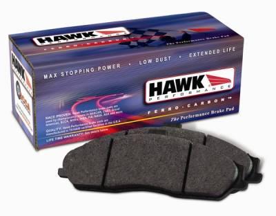 Brakes - Brake Pads - Hawk - Lincoln LS Hawk HPS Brake Pads - HB376F665