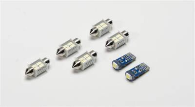 Car Interior - Dome Lights - Putco - Nissan Quest Putco Premium LED Dome Lights - 980456
