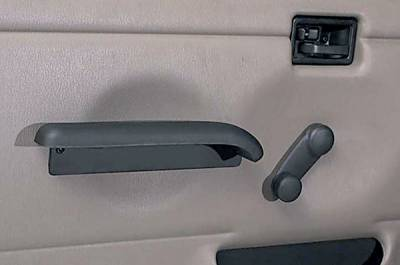 Car Interior - Arm Rests - Omix - Rugged Ridge Hard Door Arm Rest - 11830-01