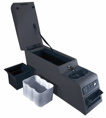 Car Interior - Arm Rests - Omix - Rugged Ridge Locking Console - 13102-01
