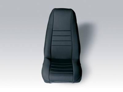 Car Interior - Seat Covers - Omix - Rugged Ridge Custom Neoprene Seat Cover - Pair - 13210-01