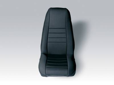 Car Interior - Seat Covers - Omix - Rugged Ridge Custom Neoprene Seat Cover - Pair - 13213-01