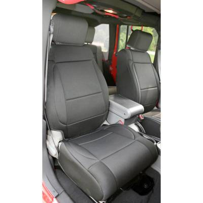 Car Interior - Seat Covers - Omix - Rugged Ridge Seat Protector with Optional Factory Seat Air Bags - 13214-01