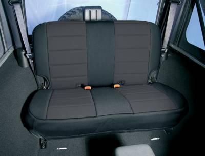 Car Interior - Seat Covers - Omix - Rugged Ridge Custom Neoprene Seat Cover - Rear - 13261-01
