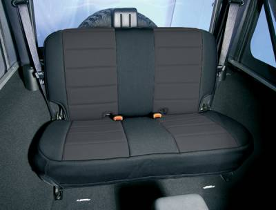 Car Interior - Seat Covers - Omix - Rugged Ridge Custom Neoprene Seat Cover - Rear - 13262-01
