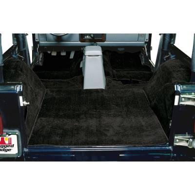 Car Interior - Floor Mats - Omix - Rugged Ridge Deluxe Carpet Kit - 13690-01