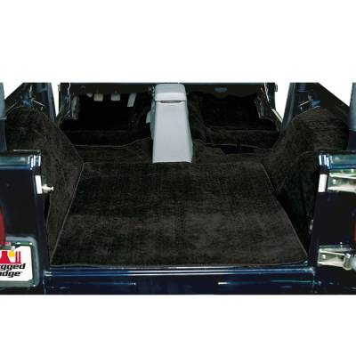 Car Interior - Floor Mats - Omix - Rugged Ridge Deluxe Carpet Kit - 13691-01
