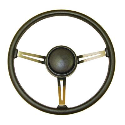 Car Interior - Steering Wheels - Omix - Omix Steering Wheel with Horn Button Cap - 18031-07