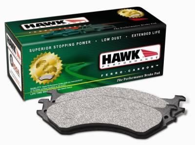 Brakes - Brake Pads - Hawk - Dodge Shadow Hawk LTS Brake Pads - HB411Y717