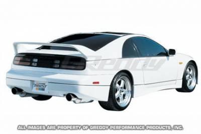 Spoilers - Custom Wing - Greddy - Nissan 300Z Greddy Gracer Aero-Style Rear Spoiler - Fiber Reinforced Plastic - 17020226