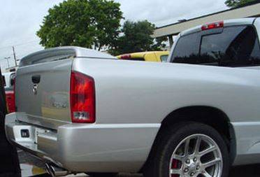 Spoilers - Custom Wing - DAR Spoilers - Dodge Ram Pick-Up Srt-10 DAR Spoilers OEM Look 3 Post Wing w/ Light ABS-302