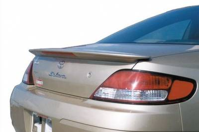 Spoilers - Custom Wing - DAR Spoilers - Toyota Solara DAR Spoilers OEM Look Trunk Lip Wing w/ Light ABS-312