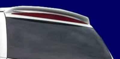 DAR Spoilers - Cadillac escalade DAR Spoilers Custom Roof Wing w/o Light ABS-502