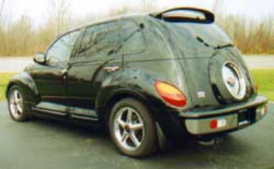 Spoilers - Custom Wing - DAR Spoilers - Chrysler Pt Cruiser DAR Spoilers OEM Look Roof Wing w/o Light ABS-531