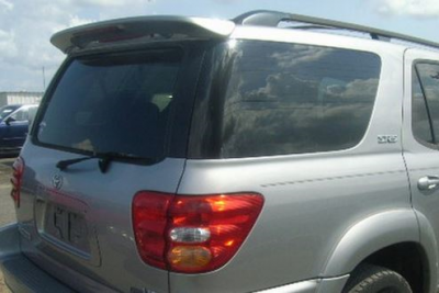 Spoilers - Custom Wing - DAR Spoilers - Toyota Sequoia DAR Spoilers OEM Look Roof Wing w/ Light ABS-536