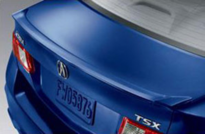 DAR Spoilers - Acura TSX DAR Spoilers OEM Look Trunk Lip Wing w/o Light ABS-542