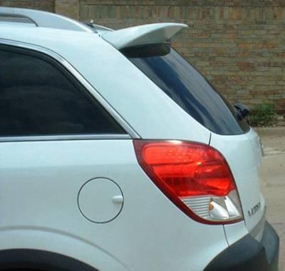 Spoilers - Custom Wing - DAR Spoilers - Saturn Vue DAR Spoilers Custom Roof Wing w/o Light ABS-709