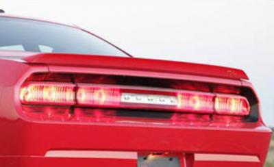 Spoilers - Custom Wing - DAR Spoilers - Dodge Challenger DAR Spoilers OEM Look Flush Wing w/o Light ABS-732