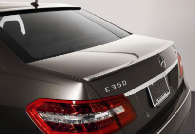 Spoilers - Custom Wing - DAR Spoilers - Mercedes E-Class Sedan DAR Spoilers OEM Look Trunk Lip Wing w/o Light ABS-739