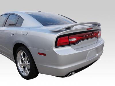 Spoilers - Custom Wing - DAR Spoilers - Dodge Charger DAR Spoilers OEM Look 3 Post Wing w/o Light ABS-748