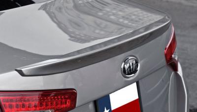 Spoilers - Custom Wing - DAR Spoilers - Kia Optima DAR Spoilers OEM Look Trunk Lip Wing w/o Light ABS-749