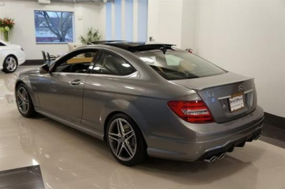 Spoilers - Custom Wing - DAR Spoilers - Mercedes C-Class Coupe DAR Spoilers OEM Look Trunk Lip Wing w/o Light ABS-760