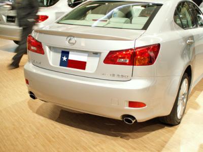 Spoilers - Custom Wing - DAR Spoilers - Lexus IS250 DAR Spoilers OEM Look Trunk Lip Wing w/o Light ABS-762