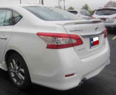 Spoilers - Custom Wing - DAR Spoilers - Nissan Sentra DAR Spoilers OEM Look Flush Wing w/ Light ABS-768