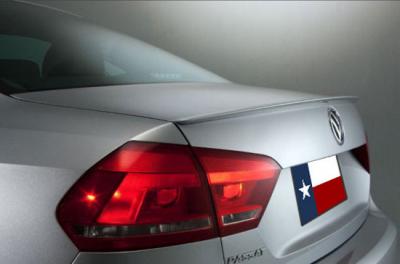 Spoilers - Custom Wing - DAR Spoilers - Volkswagen Passat DAR Spoilers OEM Look Trunk Lip Wing w/o Light ABS-774