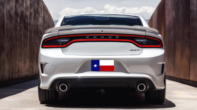 Spoilers - Custom Wing - DAR Spoilers - Dodge Charger Hellcat DAR Spoilers OEM Look Flush Wing w/o Light ABS-789