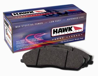 Brakes - Brake Pads - Hawk - Ford Focus Hawk HPS Brake Pads - HB519F682