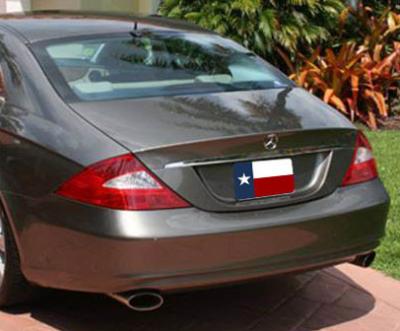 Spoilers - Custom Wing - DAR Spoilers - Mercedes CLS DAR Spoilers OEM Look Trunk Lip Wing w/o Light FG-005