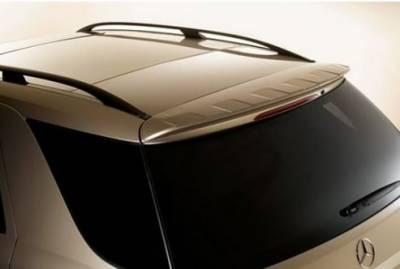 Spoilers - Custom Wing - DAR Spoilers - Mercedes ML DAR Spoilers OEM Look Roof Wing w/o Light FG-014