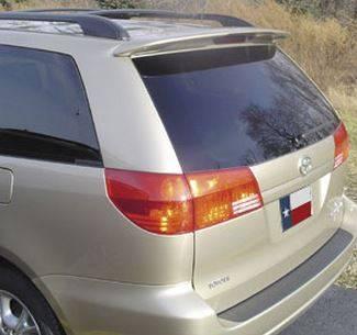 Spoilers - Custom Wing - DAR Spoilers - Toyota Sienna DAR Spoilers OEM Look Roof Wing w/o Light FG-022