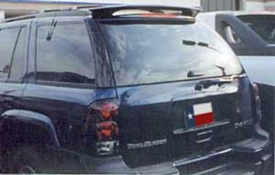 Spoilers - Custom Wing - DAR Spoilers - Chevrolet Trailblazer (Not Ext) DAR Spoilers Custom Roof Wing w/o Light FG-028