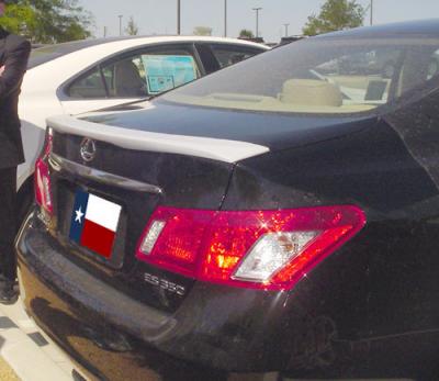 Spoilers - Custom Wing - DAR Spoilers - Lexus ES DAR Spoilers Custom Trunk Lip Wing w/o Light FG-036
