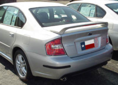 Spoilers - Custom Wing - DAR Spoilers - Subaru Legacy DAR Spoilers OEM Look 3 Post Wing w/ Light FG-051
