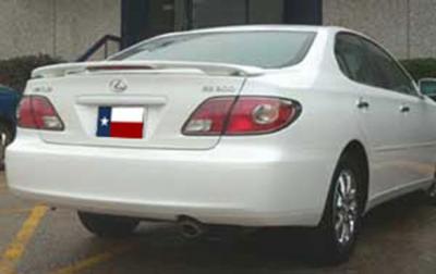 Spoilers - Custom Wing - DAR Spoilers - Lexus ES DAR Spoilers Custom 3 Post Wing w/ Light FG-061