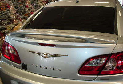 Spoilers - Custom Wing - DAR Spoilers - Chrysler Sebring 4-Dr DAR Spoilers Custom 3 Post Wing w/o Light FG-066